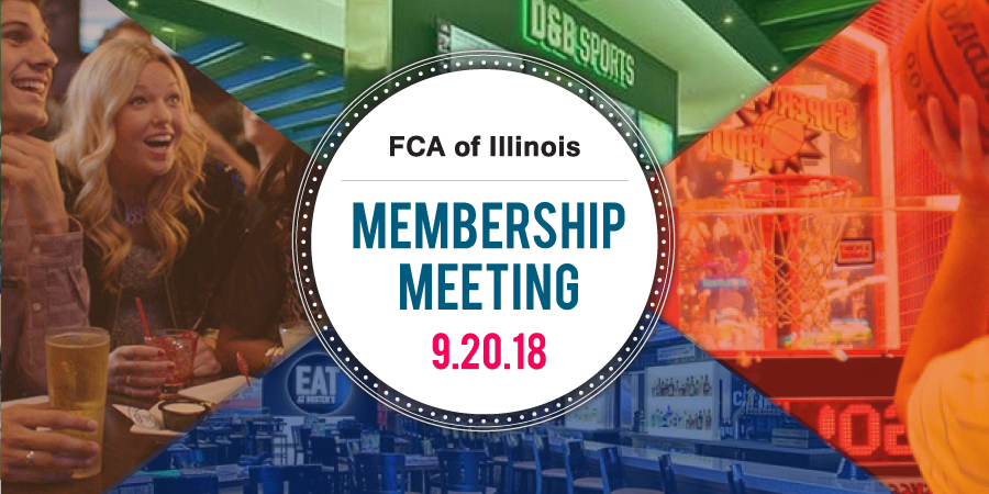 FCAI Membership Meeting @ Dave & Buster's, Addison