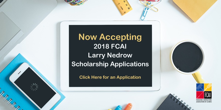 Now Accepting 2018 FCAI Larry Nedrow Scholarship Applications!